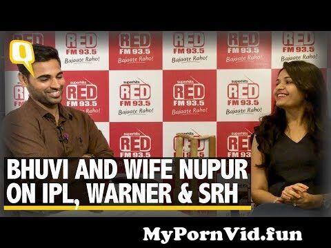 View Full Screen: srh vice captain bhuvneshwar kumar and wife nupur on ipl 11.jpg