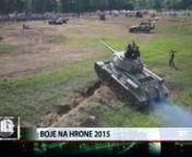 Boje na Hrone 2015 from hrone