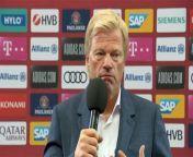 Die Vertragsverhandlungen zwischen dem FC Bayern und Leon Goretzka sowie Kingsley Coman sollen nur schleppend vorankommen. Bayern-CEO Oliver Kahn gibt Auskunft über den Stand der Dinge.