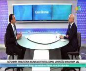 CB.Poder, com Vicente Nunes, recebe o deputado Marco Bertaiolli do PSD/SP.