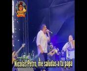 #SeVolteoLaArepa * Nicolás Petro me saluda a Tu Papá * Poncho Zuleta *<br/>#PonchoZuleta #GustavoPetro #NicolasPetro
