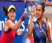 Emma Raducanu and Leylah Fernandez , To Make History in All-Teen US Open Final.<br/>Emma Raducanu and Leylah Fernandez , To Make History in All-Teen US Open Final.<br/>On Sept. 9, Britain's Raducanu defeated Maria Sakkari of Greece 6-1, 6-4 to advance to the U.S. Open women's final.<br/>On Sept. 9, Britain's Raducanu defeated Maria Sakkari of Greece 6-1, 6-4 to advance to the U.S. Open women's final.<br/>The 18-year-old will face 19-year-old <br/>Leylah Fernandez of Canada on Sept. 11 <br/>at the Arthur Ashe Stadium.<br/>Fernandez took out Aryna Sabalenka of Belarus in 7-6(3), 4-6, 6-4 to reach the final.<br/>The matchup will mark the first time the final has been played by teenagers since 1999.<br/>The matchup will mark the first time the final has been played by teenagers since 1999.<br/>Serena Williams defeated <br/>Martina Hingis that year.<br/>Raducanu is also the youngest grand slam finalist since 2004, when <br/>Maria Sharapova won Wimbledon.<br/>Raducanu is also the youngest grand slam finalist since 2004, when <br/>Maria Sharapova won Wimbledon.<br/>Raducanu is also the youngest grand slam finalist since 2004, when <br/>Maria Sharapova won Wimbledon.<br/>It means a lot to be here in this situation. I wanted obviously to be playing Grand Slams, but I didn't know how soon that would be. To be in a Grand Slam final at this stage of my career, I have no words, Emma Raducanu, via statement.<br/>Fernandez described her time <br/>at the U.S. Open as \