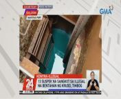 Arestado ang 13 suspek na sangkot umano sa ilegal na bentahan ng krudo o paihi sa Navotas Port.<br/>Pero depensa ng mga suspek, hindi raw nila alam na ilegal ang kanilang ginagawa.<br/><br/>Nakatutok si Marisol Abdurahman. Eksklusibo!<br/><br/>24 Oras is GMA Network's flagship newscast, anchored by Mike Enriquez, Mel Tiangco and Vicky Morales. It airs on GMA-7 Mondays to Fridays at 6:30 PM (PHL Time) and on weekends at 6:00 PM. For more videos from 24 Oras, visit http://www.gmanetwork.com/24oras. News updates on COVID-19 (coronavirus disease 2019) and the COVID-19 vaccine: https://www.gmanetwork.com/news/covid-19/<br/><br/>Breaking news and stories from the Philippines and abroad:<br/>GMA News and Public Affairs Portal: http://www.gmanews.tv<br/>Facebook: http://www.facebook.com/gmanews<br/>Twitter: http://www.twitter.com/gmanews<br/>Instagram: http://www.instagram.com/gmanews<br/><br/>GMA Network Kapuso programs on GMA Pinoy TV: https://gmapinoytv.com/subscribe
