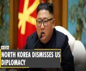 North Korea accuses the US of using 'spurious' diplomacy - Joe Biden - Kim Jong-un