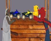 Granny vs Spiderman Funny Animation<br/>