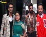 Bharti Singh, Haarsh Limbachiyaa, Dharmesh Yelande & Tushar Kalia On The Sets Of Dance Deewane